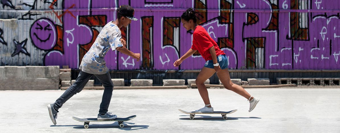 Image for SKATE Nepal: Rolling over gender inequality