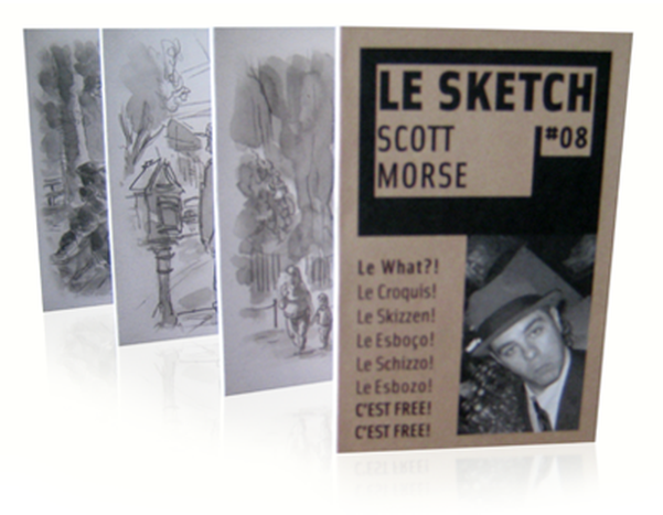 Image for Le Sketch ~ C'est Free! C'est Chic!: Scott Morse 10 free copies