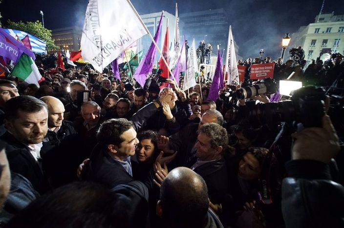 Image for Syriza: il trionfo diTsipras