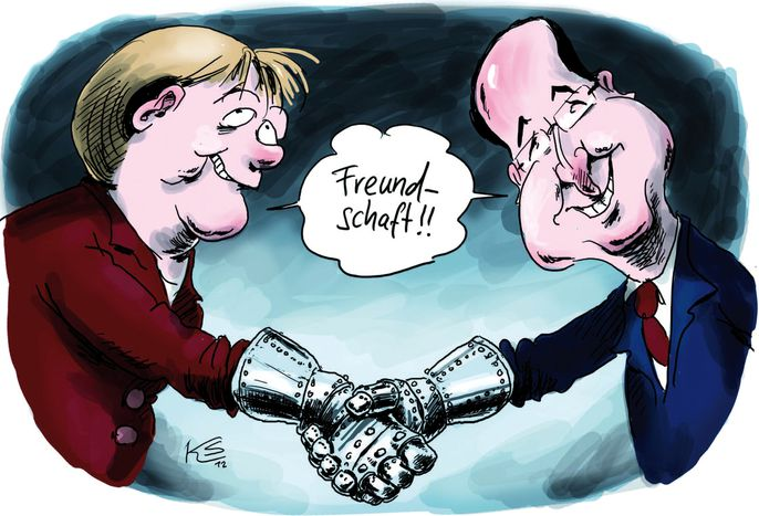 Image for EU-Cartoons: Ein Fall für zwei?