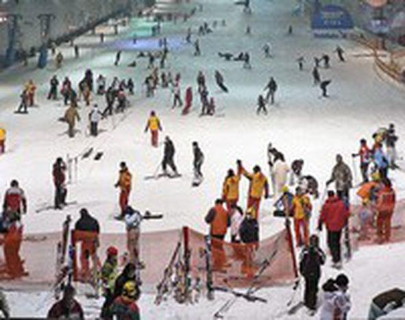 Image for Ski en salle et neige sous vide