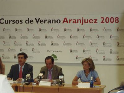 """Image for MEMORIA DEL CURSO """"LEGISLADORES Y JUECES""""  EN ARANJUEZ"""