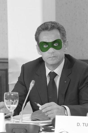 Image for Nicolas Sarkozy – prezydent, który dostosował się do systemu