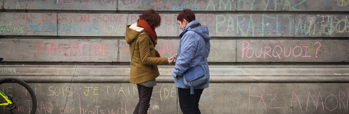 Image for Brussels: Responding to violence with love