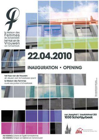 Image for Inauguration de la Maison des Femmes de Schaerbeek