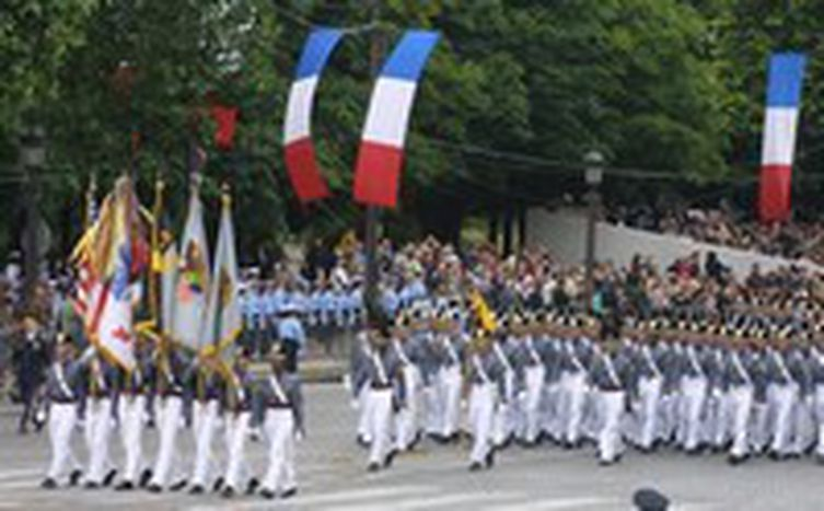 Image for 14. Juli in Frankreich: Beerdigung der Republik