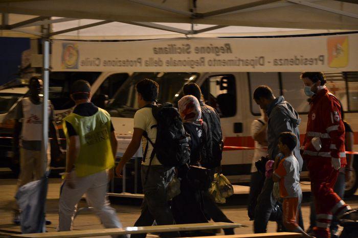Image for Les migrants de Palerme : récit d'une nuit de brouillard