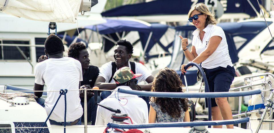 """Image for """"Orizzonti Migranti"""", i rifugiati veleggiano verso la libertà"""