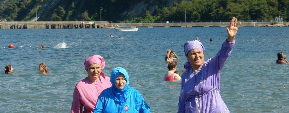 Image for The 'burkini ban' is overturned, but who's in the right?