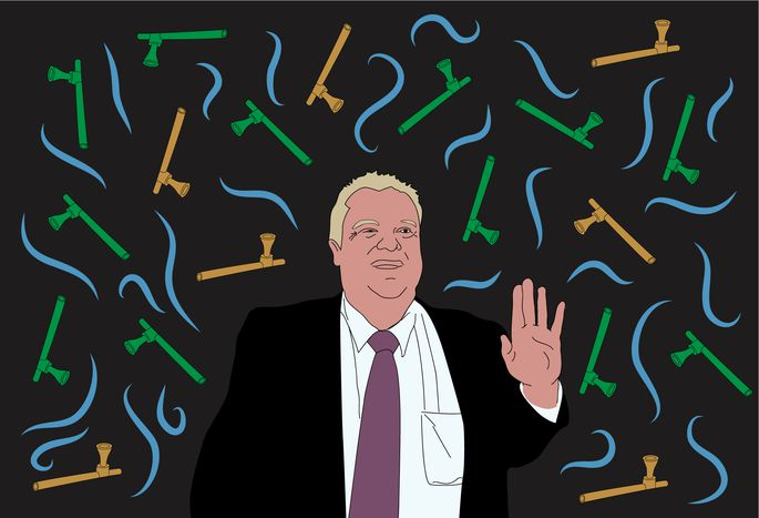 Image for Rob Ford, Berlusconi, The Crystal Methodist: why do we love scandals so much?