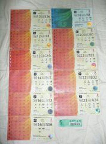 Image for Les tickets pour les Jos