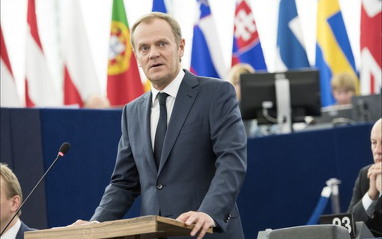 Image for Tusk defends the Juncker plan before the European Parliament
