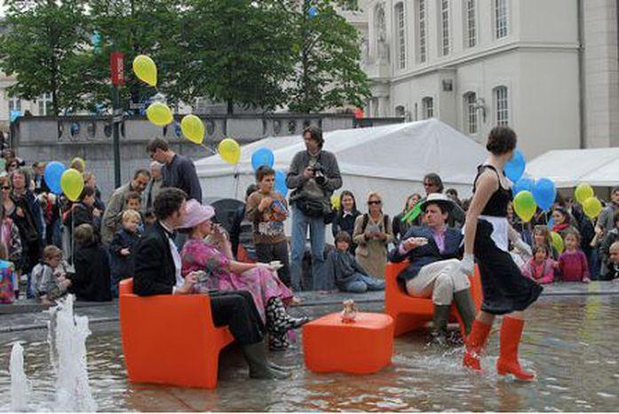 Image for Les deux communautés de Bruxelles réunies à l'ombre de l'Iris