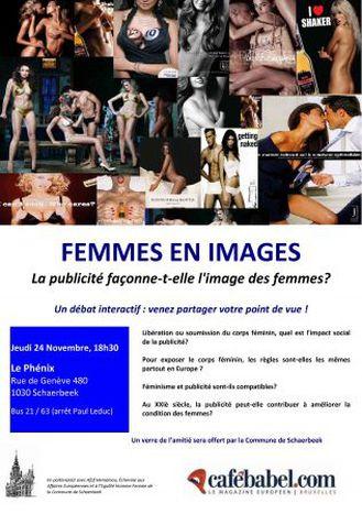 Image for Femmes en Image : la publicité façonne-t-elle l'image des femmes? Un débat de Cafebabel Bruxelles