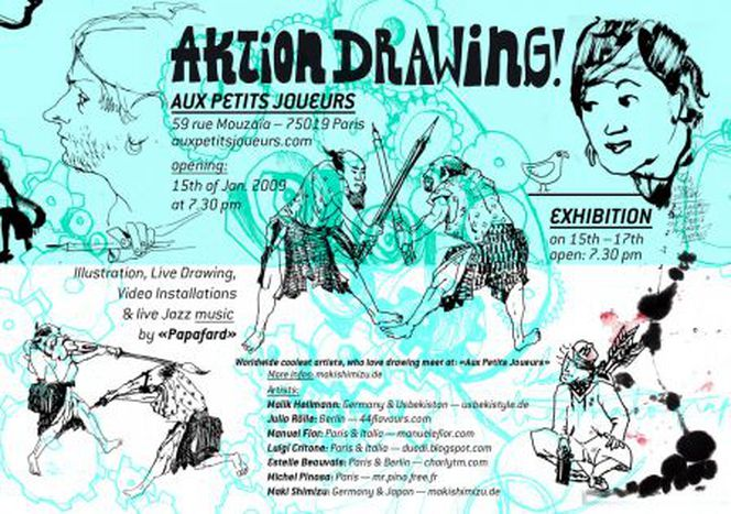 Image for A Parigi: Aktion Drawing!