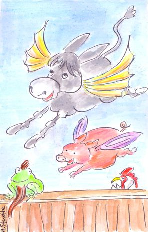 Image for When pigs fly