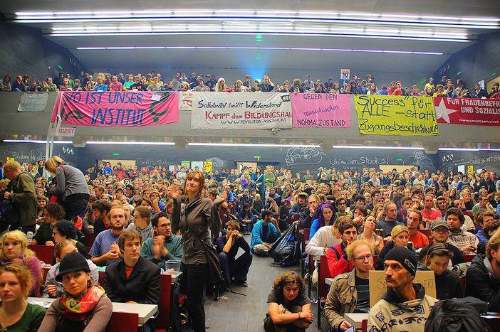 Image for Protestas estudiantiles en Viena: la calma tras la tormenta