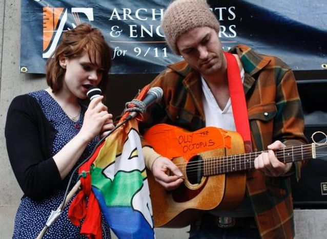 Image for London: protest singing for the UK elections