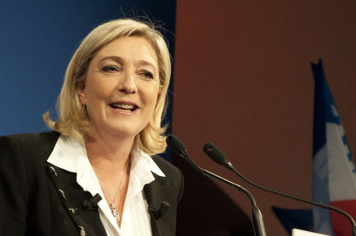 Image for Carta abierta de Marea Granate a Marine Le Pen