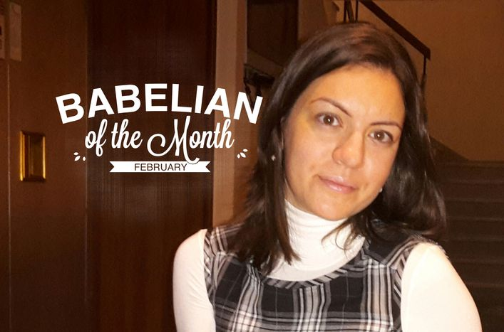 Image for Babelian of the Month: Maria-Christina Doulami