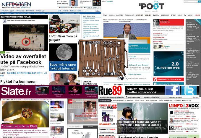 """Image for Il gioco dei """"pure player"""": il giornalismo indipendente passa dal web."""