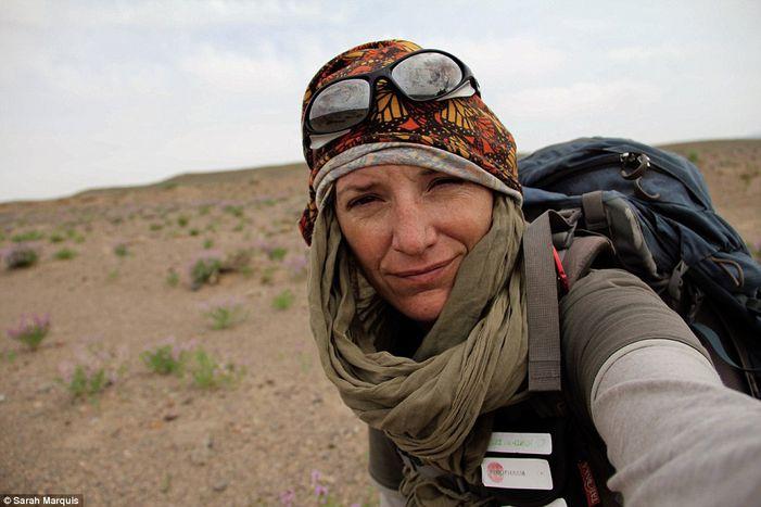 Image for [ita] Sarah Marquis marcia per comunicare con la natura