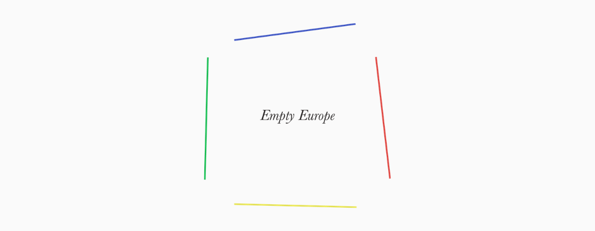 Image for Empty Europe : la série qui fait le vide