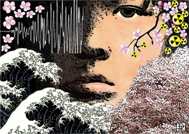 Image for Nucléaire et psychologie : les Japonais contiennent leurs émotions...pas nous