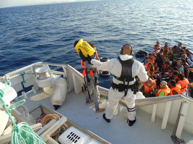 Image for Qu'en est-il des droits fondamentaux dans le «futur Frontex»?