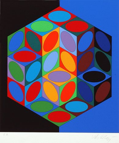 Image for Hungarian French artist Victor Vasarely museum under threat of closure