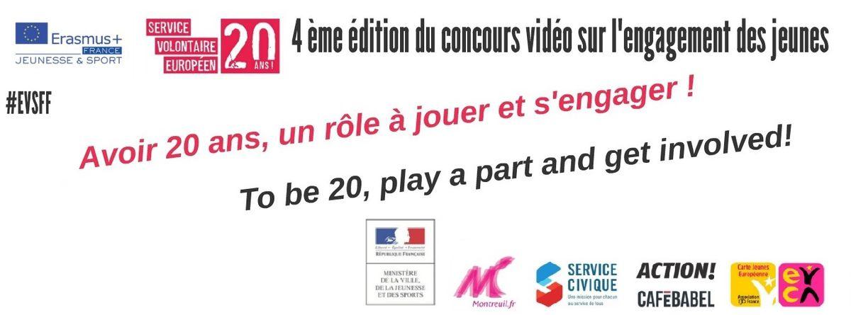 """Image for EVSFF 2016 : """"Avoir 20ans, un rôle à jouer et s'engager !"""""""
