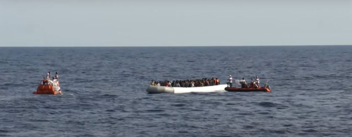 Image for On board the Aquarius: the challenges of filming on a refugee rescue ship