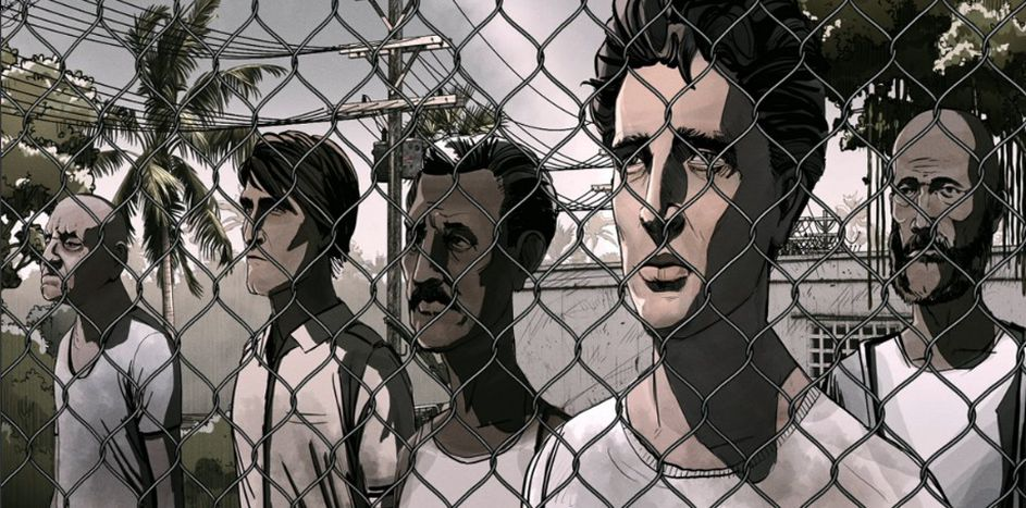 Image for Nowhere Line: What future for the Manus Island migrants?
