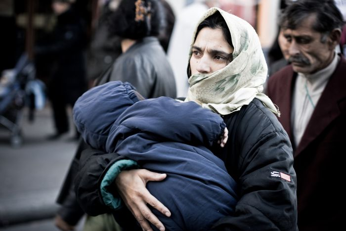 Image for Double discrimination: roma women in central and eastern Europe