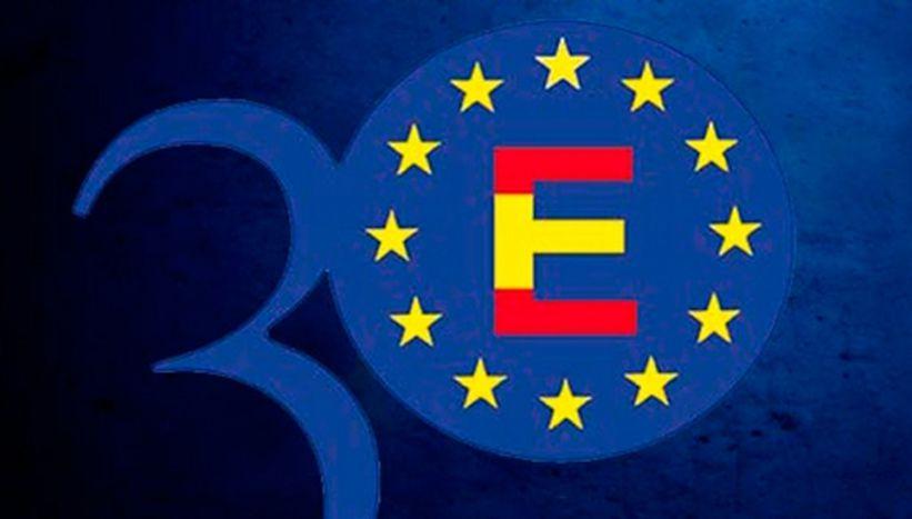 Image for Treinta años de España en la UE: un aprendizaje sobre cómo vivir en un mundo global