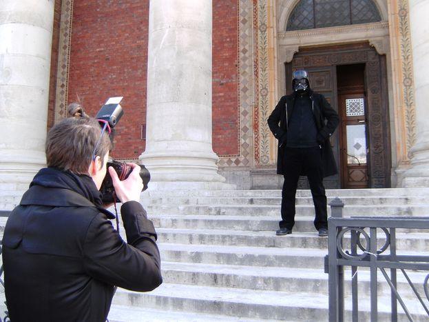 Image for Budapest: Darth Vader gegen rechtskonservative Kunst