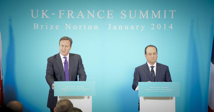 Image for Cameron se moque de l'économie française et il ne fallait pas