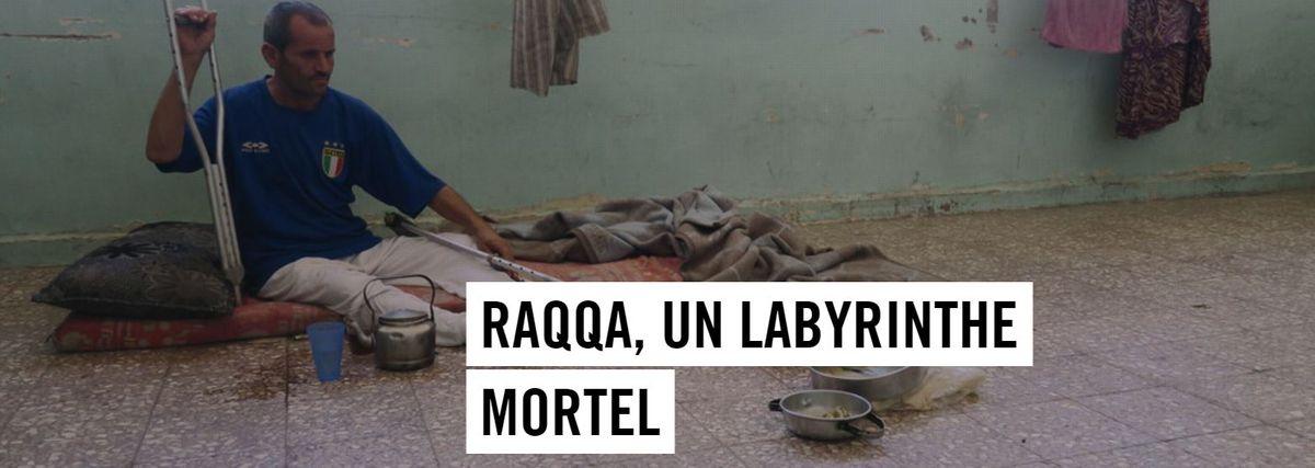Image for La tragédie des civiles à Raqqa