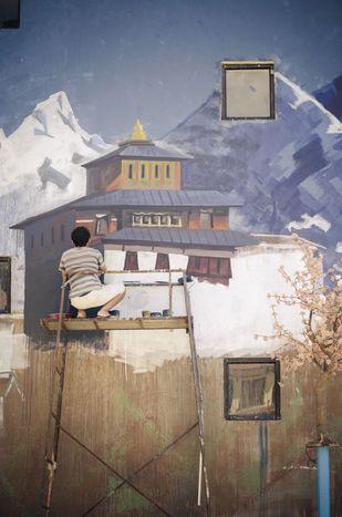 Image for Painting dreams : Kathmandu's freshly emerging street art scene