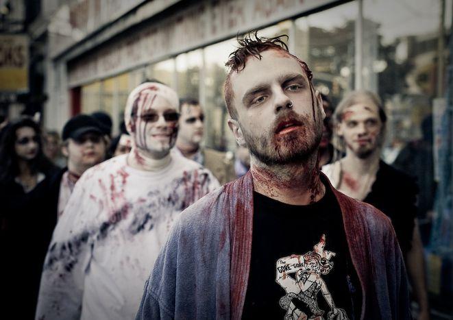 Image for Zombie walk: ils reviennent...ils veulent...une retraite !