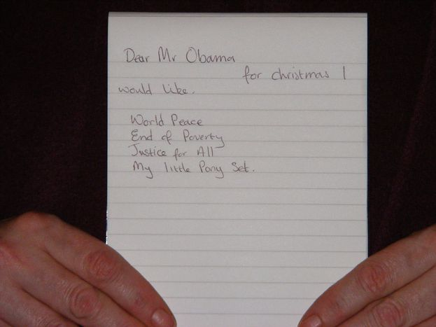 Image for Dear Obama administration: Europe's top five on the Christmas list