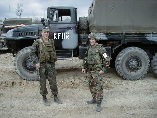 Image for Baby soldiers and peacekeeping in Kosovo: why choose the army?
