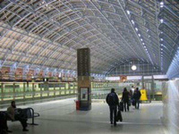 Image for Eurostar's new St. Pancras home