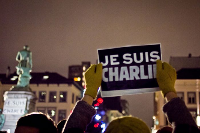 Image for In Brussels, we too are Charlie