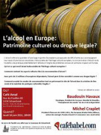 Image for L'alcool en Europe: patrimoine culturel ou drogue légale ?
