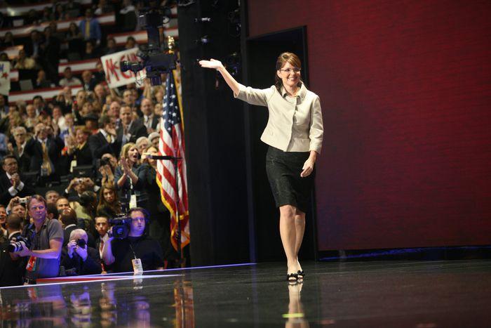 Image for Vídeos: La Sarah Palin sin complejos no escapa al machismo