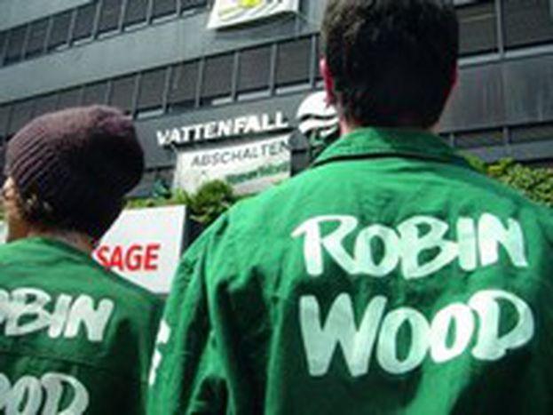 Image for Robin Wood: los defensores de los bosques