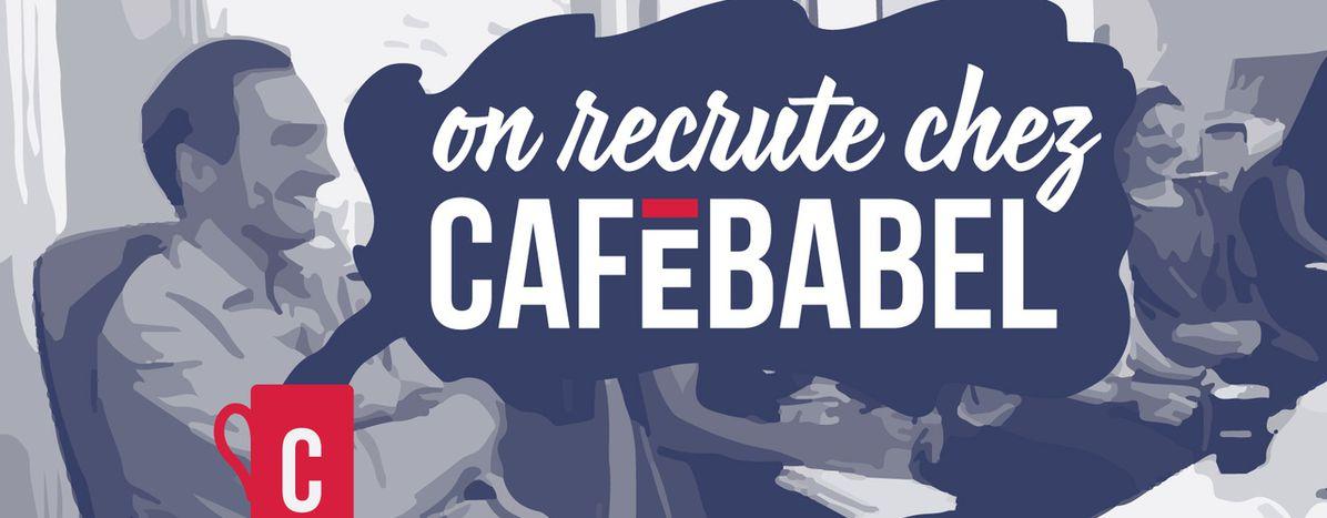 Image for Cafébabelrecrute un(e) videomaker et animateur éditorial du réseau local[SERVICE CIVIQUE 6 MOIS]