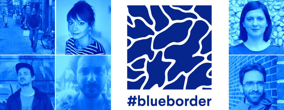 Image for #blueborder is Cafébabel's brand new cross-border project. Meet the team