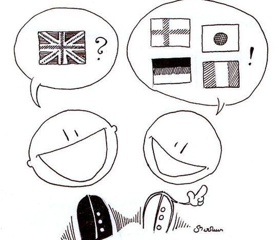 Image for Englisch , die neue Lingua franca?